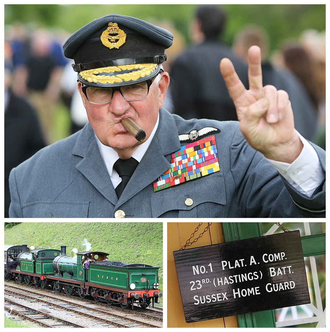 Southern At war, Bluebell Railway