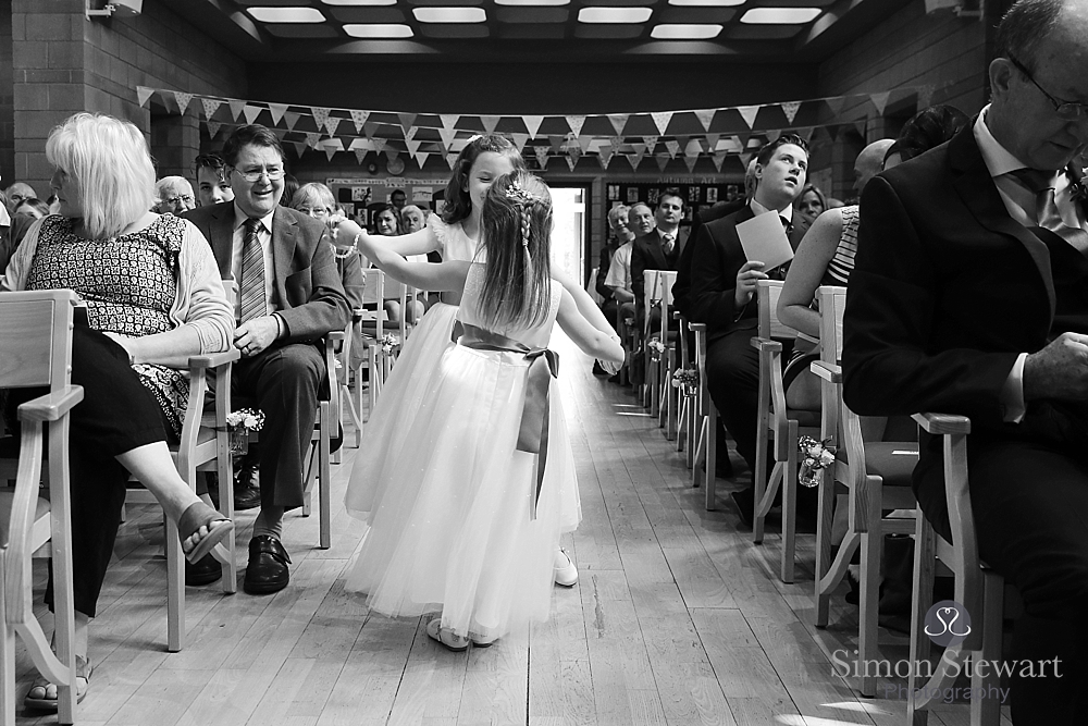 Forest Row Wedding Photography at Brambletye School