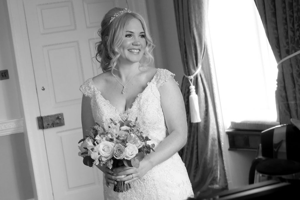 bride waiting at buxted park, Sussex Wedding Photographers